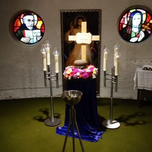 Stille Verabschiedung in der Unterkirche